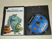Disney Monsters Inc Sony Playstation 2 PS2 Complete CIB VERY Fast Ship!