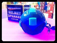 EXCLUSIVE MEGAMAN HELMET SPEAKER CASCO SONORO CAPCOM D: 10 CM CIRCA COLLEZIONE