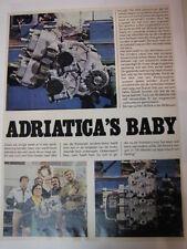Clipping / artikel Adriatica, Adriatica's Baby (NED)