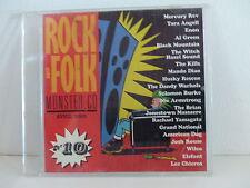 CD Sampler Rock & Folk 10 MERCURY REV AL GREEN WILCO YAMAGATA ELEFANT KILLS