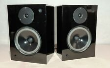 RAM AUDIO MONITOR BOOKSHELF STEREO LOUDSPEAKERS - BLACK HIGH GLOSS - USED