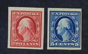 CKStamps: US Stamps Collection Scott#344 347 Washington Mint H OG