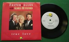 "Foster & Allen + Gloria Hunniford True Love / Rose Of Clare HONEY 4 7"" Single"