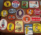 VINTAGE PATCHES SEXY FUNNY MOTORCYCLE HOT ROD HIPPIE