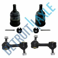 NEW 4pc Kit: Sway Bar End Links and Lower Ball Joints for 2008-12 Honda Accord