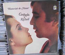 CARMELA Y RAFAEL HISTORIAS DE AMOR MEXICAN LP POP EN ESPAÑOL WLP