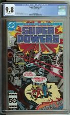 Super Powers #5 CGC 9.8 DC Comic 1986 White Pages Darkseid Batman Jack Kirby