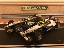 Scalextric F1 Mclaren MP4-16 No4 & Williams FW23 No5 Serviced Great Condition