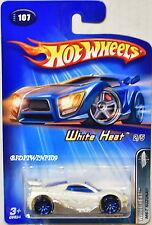 HOT WHEELS 2005 - WHITE HEAT MS-T SUZUKA #107