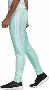 Adidas Women's Tiro 19 Soccer Pants, Clear Mint/White