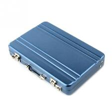 Men Women Business ID Credit Card Holder Mini Suitcase Bank Card Holder Box Case