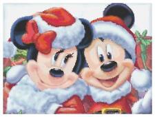"Disney's Merry Christmas ""Mickey & Minnie Claus"" Cross Stitch Pattern CD"
