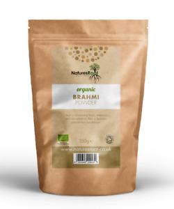 Organic Brahmi Powder - Healthy Hair   Brain Tonic   Herbal Pure Bacopa Monnieri