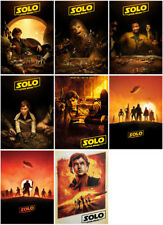 8 Solo:A Star Wars Story Movie 2018 Mirror Surface Postcard Promo Poster Card E5