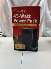 Malibu 45 Watt Power Pack with Sensor Low Voltage Landscape Light 12V Output S5