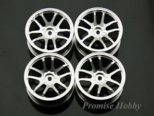 Clearance D5S alloy wheel rim set for 1:10 1/10 on road rc cars like Tamiya -SLV