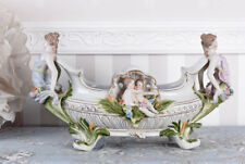 Florale schale Im Jugendstil Porzellan Nymphen & Engel