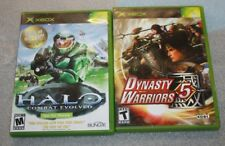 ORIGINAL XBOX HALO COMBAT EVOLVED DYNASTY WARRIORS 5 BOTH COMPLETE FREE SHIPPING