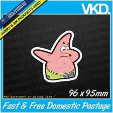 Patrick Dabbing Sticker/ Decal - JDM Drift Car Dab Funny Meme Spongebob Vinyl