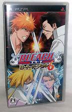 Bleach 6 Heat Your Soul GIOCO USATO OTTIMO SONY PSP EDIZIONE ED JAP VBC 52929