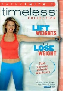 KATHY SMITH - LIFT WEIGHTS TO LOSE WEIGHT NEW DVD