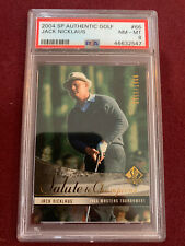 Jack Nicklaus 2004 SP Authentic Salute To Champions PSA 8 NM-Mt