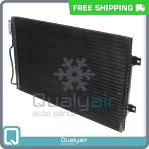 AC Condenser fits Dodge B1500, B2500, B3500, Ram 1500 Van, Ram 2500 Van, R... QU
