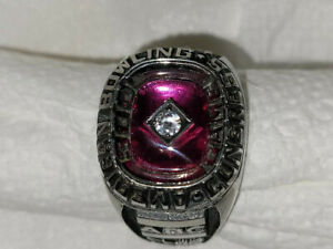 RARE Vintage Men's Bowling Ring Jewelry Keepsake Class Form ABC 300 Game Champ