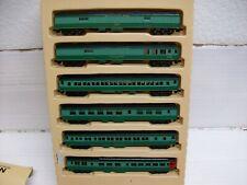 N Scale Con-Cor 03-570006 Southern Railway 6-Car Passenger Set