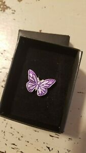 NIB Avon SPEAK OUT AGAINST DOMESTIC VIOLENCE  Butterfly Pin