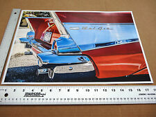 1957 Chevy 18x12 print Fins Belair Collectible Icon Fuel Injection Nomad garage