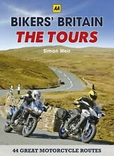 Bikers' Britain: The Tours New Spiral-bound Book Simon Weir