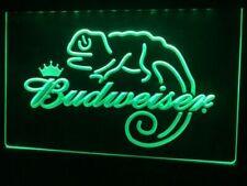 Budweiser Lizard Beer Led Neon Light Sign Bar Club Pub Advertise Home Decor Gift