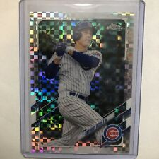 2021 Anthony Rizzo Topps Chrome X-fractors - Card #165