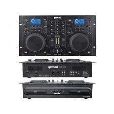 GEMINI CDM4000 CONSOLLE DJ LETTORE CDJ USB MP3 CON MIXER DJ CONSOLLE PER DJ