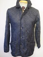 "Barbour D314 Polar Quilted jacket XS 32-34"" Euro 42-44 in Black"