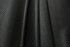 Tessuto Ecopelle Tappezzeria Capitonné Nero cm. 50 x 140-Leather Fabric