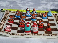 KGKATE CYLINDRICAL CHESS SETS NEW HANDMADE 30% OFF FOR HOLIDAYS FROM $78 TO $54