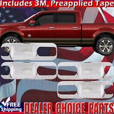 2015 2016 2017 2018 2019 Ford F150 Crew Cab Chrome Door Handle Bowl Plate COVERS