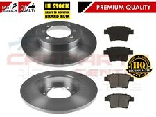 FOR PROTON GEN 2 GEN2 1.3 1.6 16V REAR BRAKE DISCS DISC AND PAD PADS 2004 - 2011