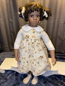 """Vera Schulz 24"""" Artist Doll AEL 2004 Rare And Retired Beautiful Vintage Doll🤩"""