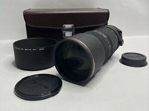 Tokina AT-X PRO AF 80-200mm f/2.8 Telephoto Lens Pentax Sony Minolta F/S W/ Case