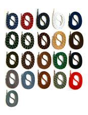 runde SCHNÜRSENKEL für WANDERSCHUHE ARBEITSSCHUHE, 75-200cm, 5mm Polyester SNORS