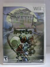 Wii Death Jr Root of Evil (Nintendo Wii, 2008) Brand NEW Factory Sealed