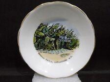"""Royal Grafton Souvenir Dish - Banana patch, Carnarvon W.A. vgc (3 7/8"""") #2 white"""