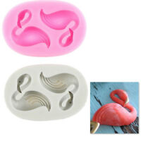 Flamingos Silicone Fondant Mold Baking Cake Decorating Tools Chocolate Mould Pip