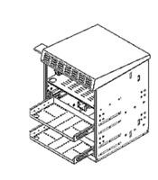 Multilink MQ-PSN-8 Power Supply Battery Node Enclosure DRK Green