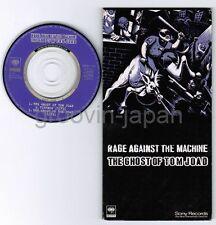 "RAGE AGAINST THE MACHINE The Ghost of Tom Joad JAPAN 3"" CD SRVM1531 SPRINGSTEEN"