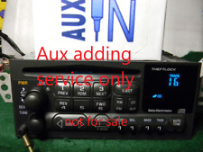 AUX ADDING SERVICE 97 04 Chevy Corvette C5 BOSE CD TAPE Radio 16257601 09390211