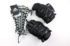Adidas Eqt Lacrosse Freak Flex Gloves 12 Head Size 10 Black Combo Ai7231 Cf9666